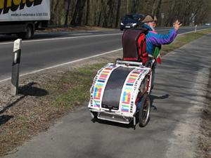 Gro e tretroller reise km durch europa for Roller potsdam